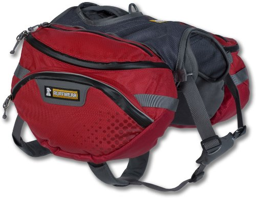 Ruffwear - Palisades Multi-Day Backcountry Pack for Dogs, Red Currant, Large/X-Large by Ruffwear
