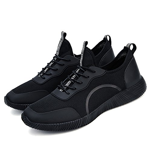Athletic Sneaker Mesh Shoes Big for Running Mens Black Walking Exercise Sports Breathable Lightweight Size Outdoor Jogging Casual AxP8qn