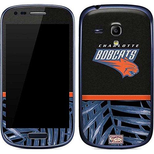 NBA Charlotte Hornets Galaxy S3 Mini Skin - Charlotte Bobcats Retro Palms Vinyl Decal Skin For Your Galaxy S3 Mini