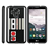 MINITURTLE Case Compatible w/ [LG Stylus 2 Case, LG G Stylo 2 Case][Snap Shell] Hard Plastic Slim Fitted Snap on case w/ Unique Designs Game Controller Review