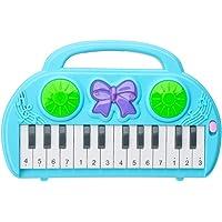TomaiBaby Barn Elektrisk Tangentbord Piano 14 Nycklar Barn Piano Leksak Bärbar Multifunktionella Tangentbord Instrument…
