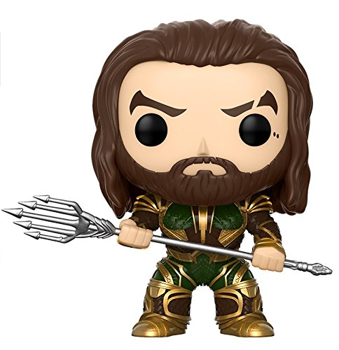 justice+league Products : Funko POP! Movies: DC Justice League – Aquaman Toy Figure