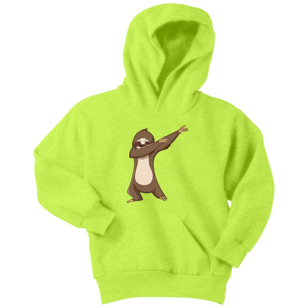 Weezag Sloth Hoodie Sweatshirt Youth Boys Girls, Dabbing Gifts Sloth Lovers 9006_TL_AP_YH