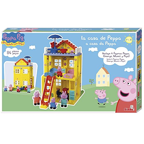 Peppa Pig  The New House building game Simba 6063439 Amazonco