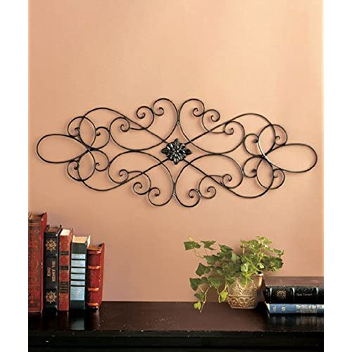 Metal Scroll Wall Decor: Amazon.com