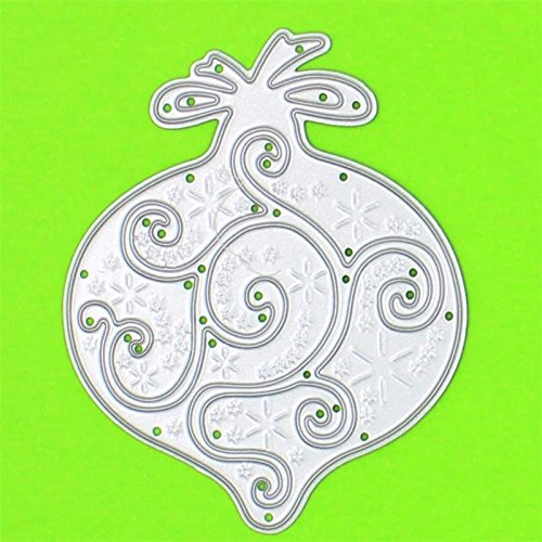 Christmas Ornament Cutting Dies Page Two