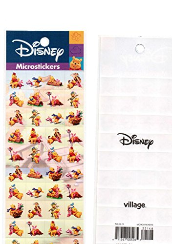 Winnie pooh Tigger Pegy Stickers Decal VINTAGE - Vintage Decal Sheet