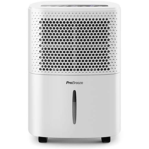 Pro Breeze 12L/Day Dehumidifier with Digital Humidity Display, Sleep Mode, Continuous...
