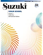 Suzuki Violin School, Volume 1: Violin Part, Book and CD