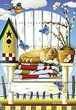 Summer Lazy Daze Cat House Flag Review