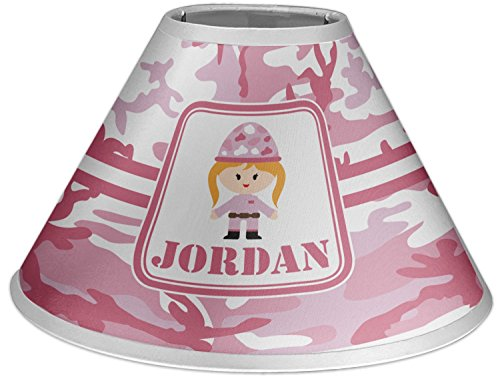 Pink Camo Coolie Lamp Shade (Personalized) Camo Pink Lamp Shade