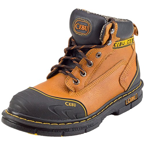 "CEBU Men's Borceshark 6"" Work Boot"