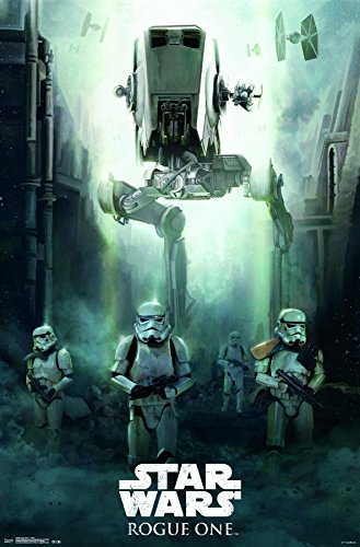 Trends International Star Wars: Rogue One-Siege Premium Wall Poster, 22.375