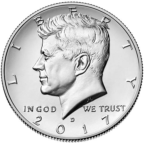 (2017 D BU Kennedy Half Dollar Choice Uncirculated US Mint)