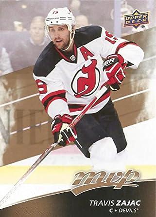 20a14e36d94 Amazon.com: 2017-18 Upper Deck MVP Hockey #144 Travis Zajac NJ Devils:  Collectibles & Fine Art