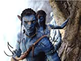 Avatar SAM Worthington ZOE Saldana 8x10 Auto Photo Reprint 1