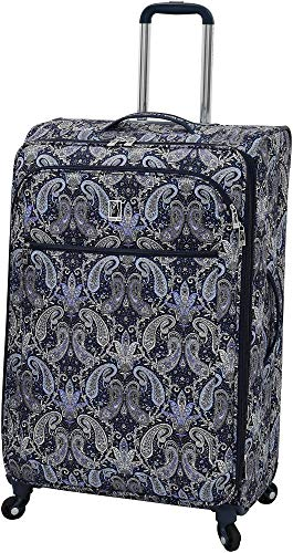London Fog Mayfair Luggage Set Black Gold Paisley (Black ()