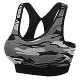 Mirity Women Racerback Sports Bras - High Impact Workout Gym Activewear Bra Color Black Size M