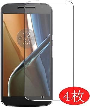 VacFun 4 Piezas HD Claro Protector de Pantalla para Motorola Moto ...