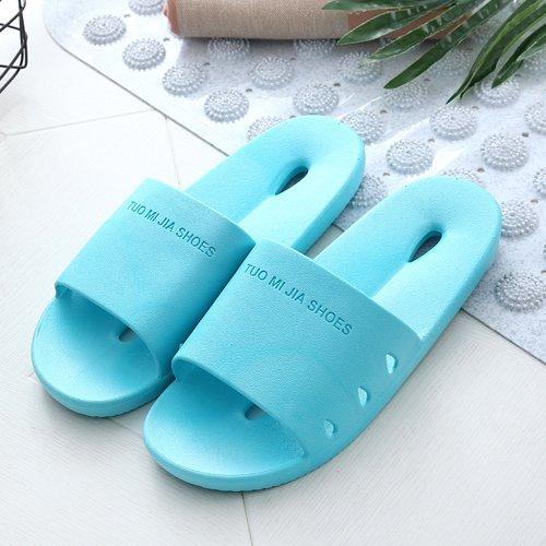 soggiorno slip pantofole bagno acqua giapponese donna di in pantofole Blu coppie pantofole bagno piscina DogHaccd chiaro3 fredda con una Il estate home anB0wxwP