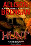 Front cover for the book The Hunt by Allison Brennan