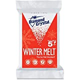 Diamond Crystal Halite Rock Salt Ice Melter 25 Pound Bag