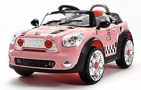 Coche MINI Cooper Electrico para niños con Comando a distancia: Amazon.es: Juguetes y juegos