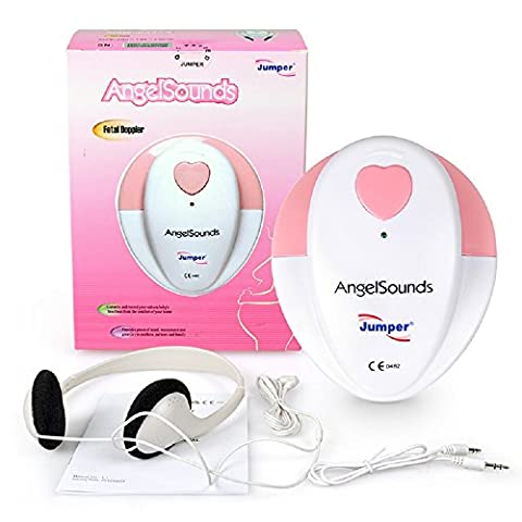 Baby Smart Sounds Heartbeat Monitor + FREE GEL – Listens To The Sounds Of Your Unborn Baby – Perfect For A Pregnant Mum – Perfect Baby Shower Gift – Peace Of Mind During Pregnancy - Fetal - Fetal Doppler