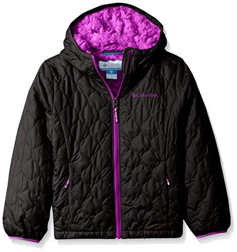Columbia Big Girls' Bella Plush Jacket, Black, X-Large