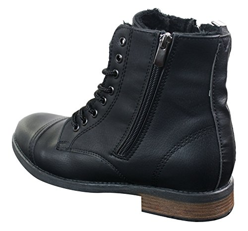 5f9147c14c63 Tamboga Mens Smart Casual Laced Zip Military Army Hiking Retro Vintage  Combat Boots - Buy Online in Oman. | Shoes Products in Oman - See Prices,  ...