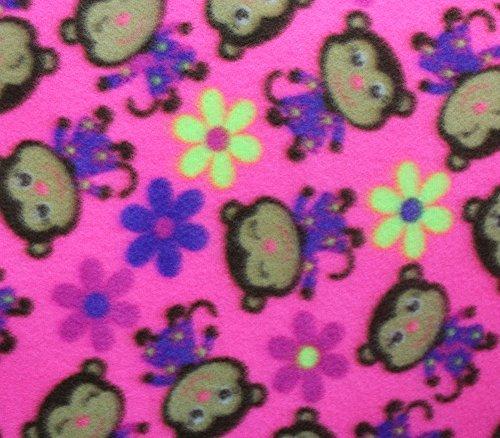 Pink Monkey Print - 6