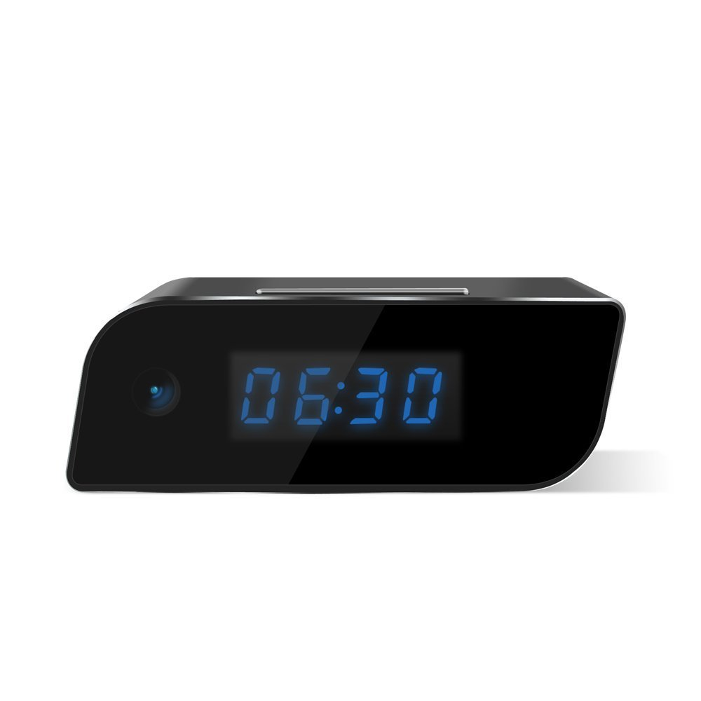 downee Wi-Fi Hidden Camera Clock [2018 Version] - Wireless Camera Full HD 1080P App Real-time Video Remotely Monitoring, Motion Detection Activated Alarm (Upgraded)
