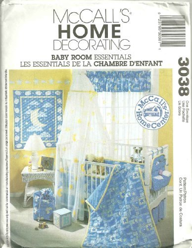 McCall's 3038 - Baby Room Essentials : McCall's Home Decorating by McCall's Home Decorating