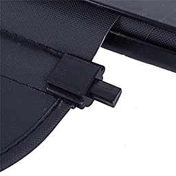 AUXMART Cargo Cover Tonneau Anti-Theft Shield Fit 2007-2012 Mazda CX-7 Black