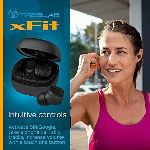 TREBLAB Xfit – Auriculares verdaderamente inalámbricos ...