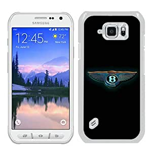 Hot Sale S6 Active Case,Bentley Logo 7 White Samsung Galaxy S6 Actve Screen Phone Case Nice and Luxury Design