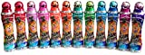 Sunsational Bingo Dauber / Dabber Set of 12 - 4 oz. - Mixed Colors