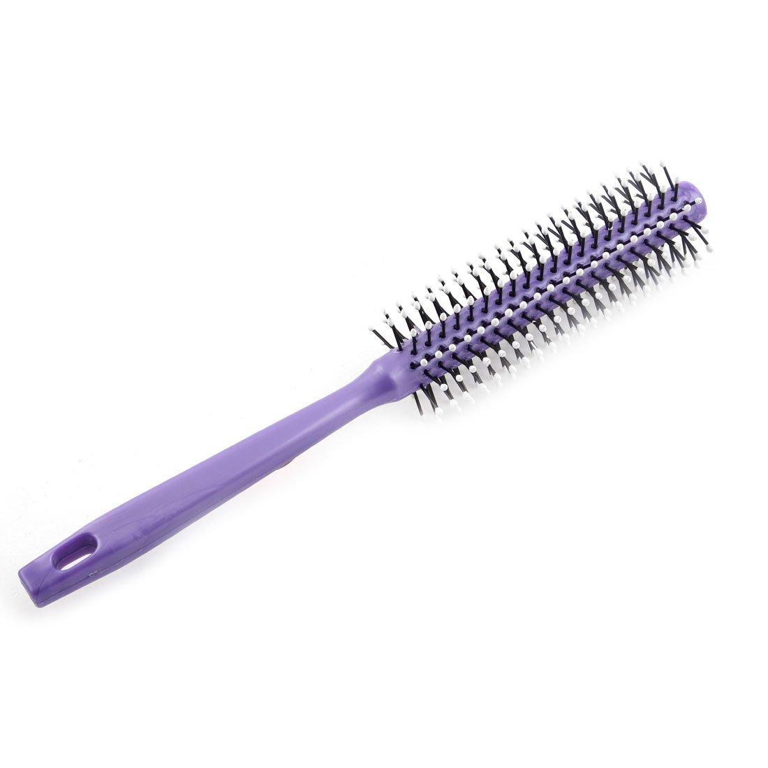 Amazon.com: Herramienta de peluquería eDealMax plástico cilíndrico de dientes anchos del Pelo ondulado de cardado del cepillo del peine: Health & Personal ...