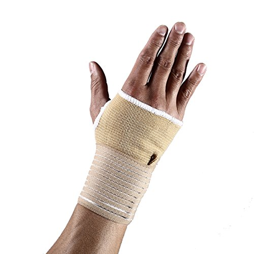 2pcs-breathable-adjustable-wrist-support-compression-sleeve-wrap-brace-splint-for-dumbbell-fitted-carpal-tunnel-relief-tendonitis-arthritis-exercises