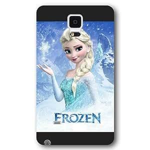 Disney Frozen For Samsung Galaxy Note 4 Cover Cover - Disney Frozen For Samsung Galaxy Note 4 Cover Hard Plastic Case Cover - Black