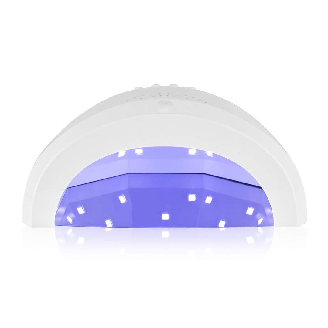 Amazon.com : Lamp For Gel Nail Polish Sun One Ice Lamp For Nail 48W SUN UV Secador De Unas Lamp Nail UV Led Nail Dryer Ice Lamp White EU : Beauty