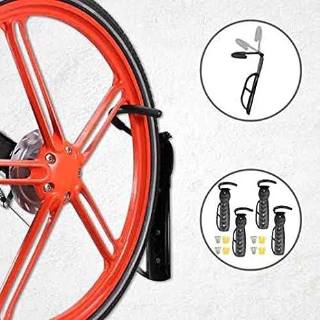 Elikliv Bicicleta Colgador Soporte Bicicleta Soporte de Pared Bicicleta Estante Soporte MAX Oso 30kg Estante Y Soportes para Garaje Bicicleta de Montaña, Carretera Bicicleta: Amazon.es: Deportes y aire libre