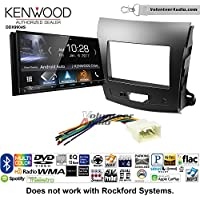 Volunteer Audio Kenwood DDX9904S Double Din Radio Install Kit with Apple CarPlay Android Auto Bluetooth Fits 2007-2013 Mitsubishi Outlander