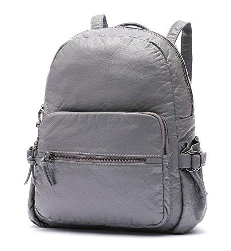 ALI VICTORY - Bolso mochila  para mujer gris