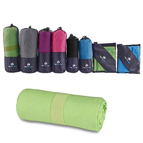 MountFlow Microfiber Towel - Quick Dry Micro Travel