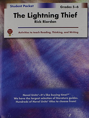 The Lightning Thief - Student Packet by Novel Units, Inc.