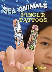 Sea Animals Finger Tattoos