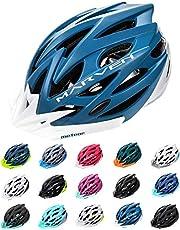 meteor® fietshelm heren dames kinderhelm MTB scooter helm helmet voor downhill scheidingshelm mountainbike inliner skatehelm BMX fietshelm jongens meisjes Fahrradhelmet bike Marven