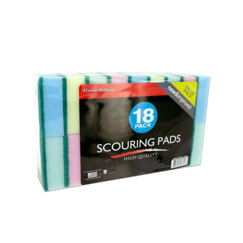 Scouring pad value pack-Package Quantity,48 by Handy Helpers
