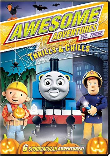 Awesome Adventures: Thrills & Chills Vol. 3 DVD - Thomas the Tank / Fireman Sam / Bob the -